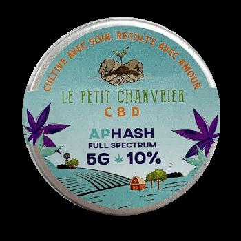 Aphash CBD Solide 10% - Fleur CBD - Le Petit Chanvrier